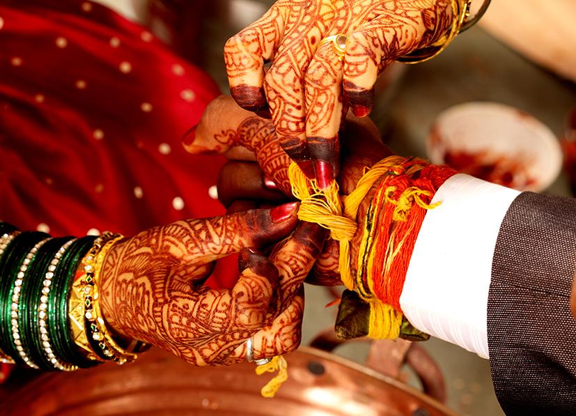 Indian wedding ceremony - details