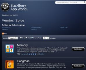 SpiceLabs' Apps Record 10M Downloads On Blackberry App World