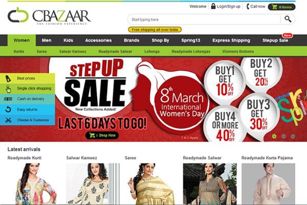 E-tailer Cbazaar claims 600 orders/day