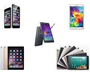 Top smartphones & tablets