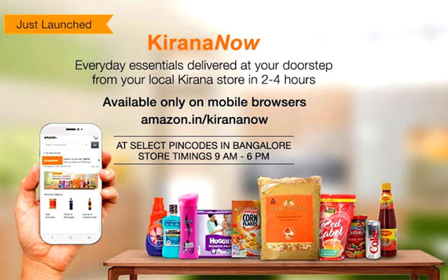 Amazon goes hyper-local in India