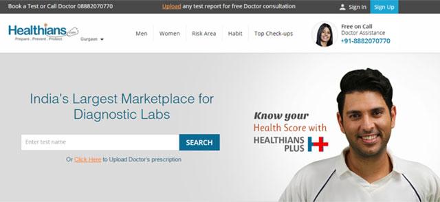 VCCircle_Healthians