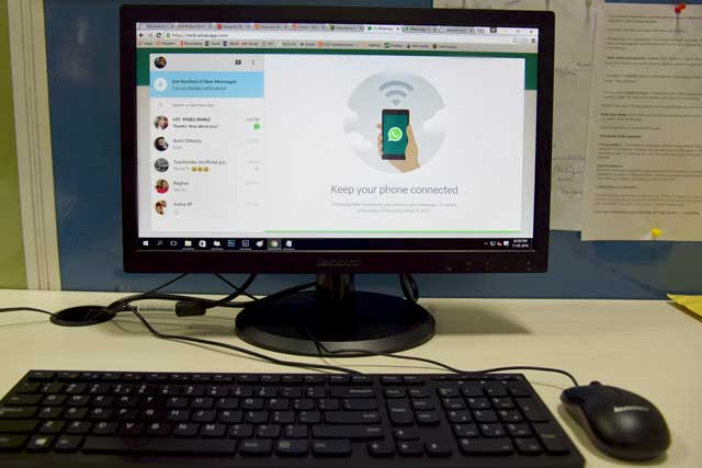 Now get the WhatsApp desktop app