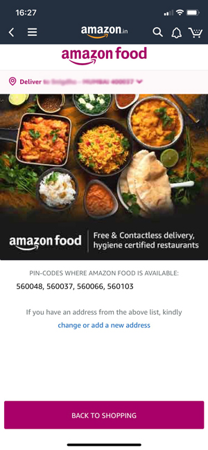 Amazon Soft Launches Food Delivery In India As Swiggy