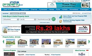 Real Estate Site Indiaproperty.com Revamped; Targets New Properties