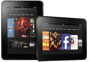 Amazon unveils new Kindle Fire HD family, targets Apple with 8.9 inch tablet