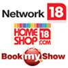 Network18's digital content & e-com revenues slip 7.7% QoQ; HomeShop18 revenues up 250%, BookMyShow up 75% YoY