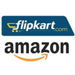 Where would Flipkart and Amazon spend money from their loaded bags