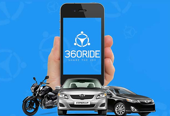 Ride-sharing startup 360Ride raises $150K in seed funding