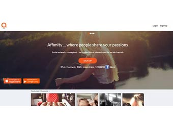 Social networking startup Affimity gets $1.2M in angel funding