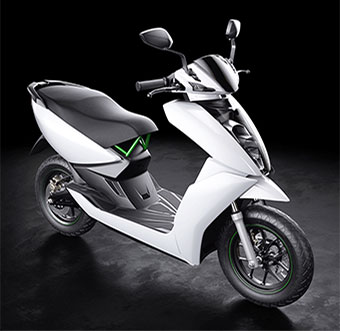 Tiger Global-backed electric scooter startup Ather unveils debut product