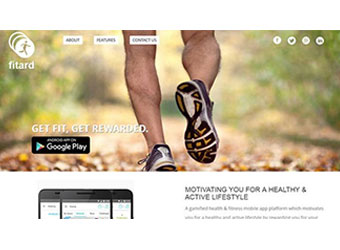It pays to be fit, promises the Fitard app