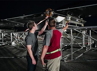Facebook's internet-beaming drone takes flight