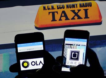 Will Google's ride sharing services hurt Uber & help Ola?