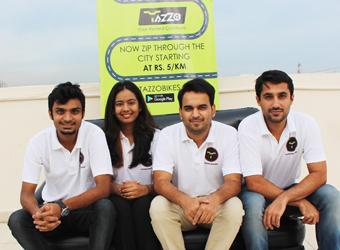 Bike rental startup Tazzo raises seed funding from DSG Consumer Partners
