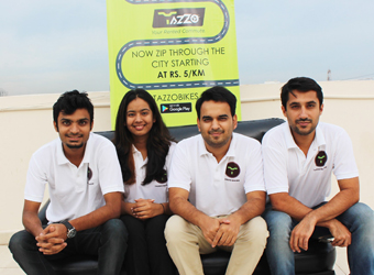 Bike rental startup Tazzo raises seed funding from DSG Consumer Partners