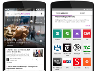 Google Play Newsstand launched on web; gets complete overhaul on Android and iOS