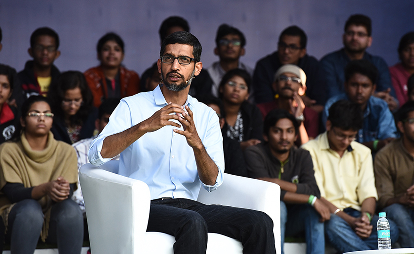 Many global software cos will emerge from India in 5-10 years: Google CEO Pichai
