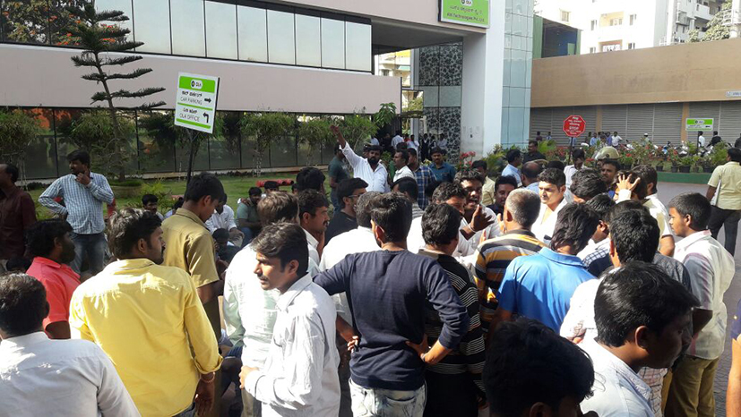 Ola, Uber drivers go on strike in Bangalore as talks fail; one attempts suicide