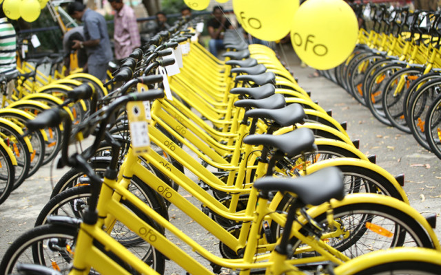 Alibaba leads $866 mn investment in Ofo amid bike-sharing firm's India push
