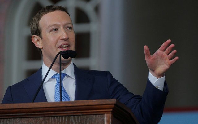 Facebook's Mark Zuckerberg says his own data was shared by Cambridge Analytica