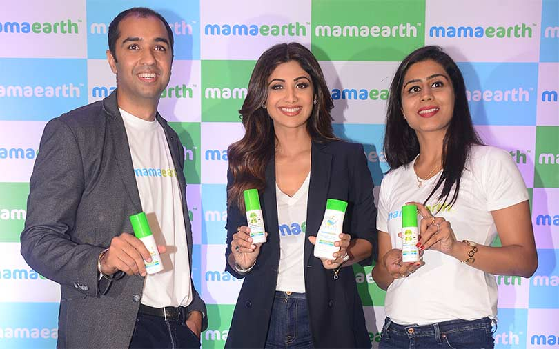 Babycare startup Mamaearth gets funding from Shilpa Shetty
