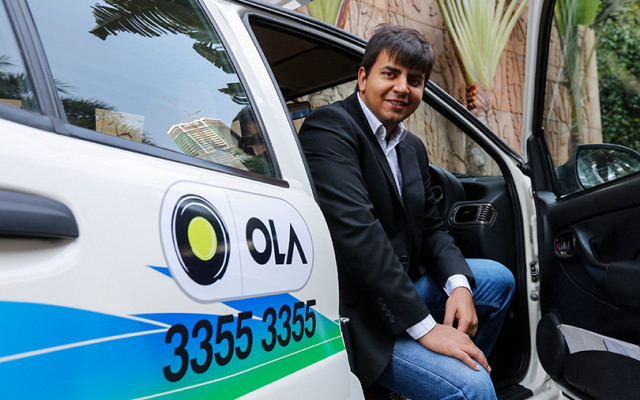 SoftBank-backed Ola's revenue nearly doubles in FY17