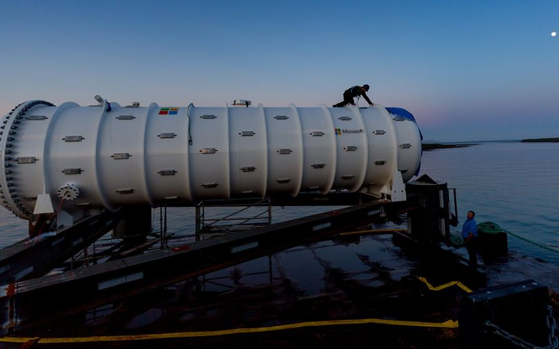 Inside Microsoft's ambitious plan to build underwater data centres