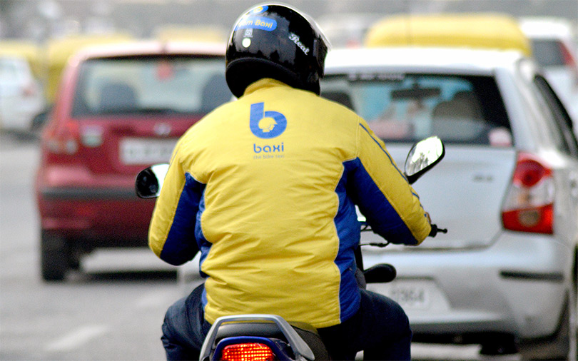 Exclusive: Bike taxi startup Baxi raises funds, floats delivery app with Patanjali