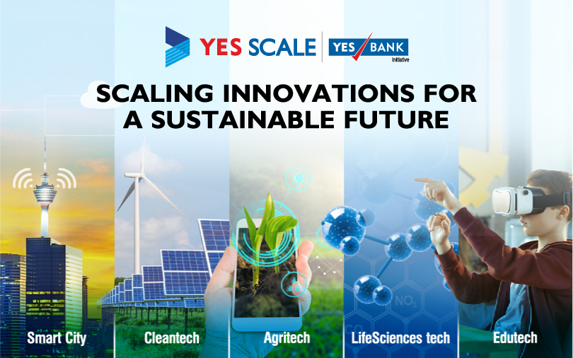 YES BANK launches YES SCALE to accelerate startup solutions for building a smarter nation