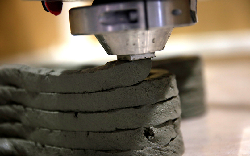 Scientists develop robots to 3D-print concrete structures