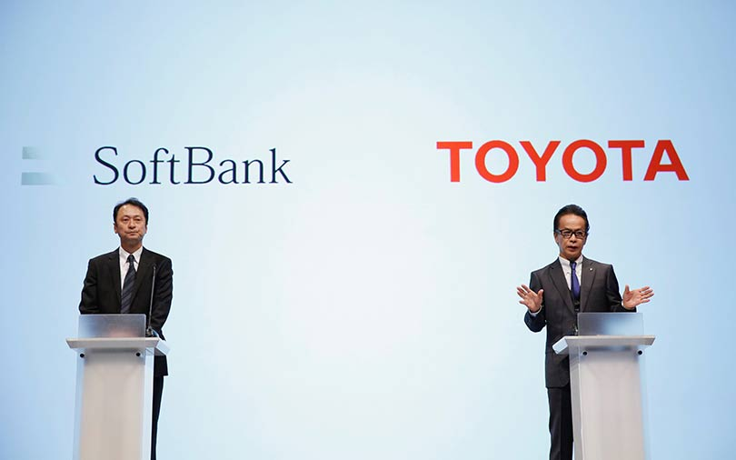 SoftBank teams up with Toyota for future car technologies