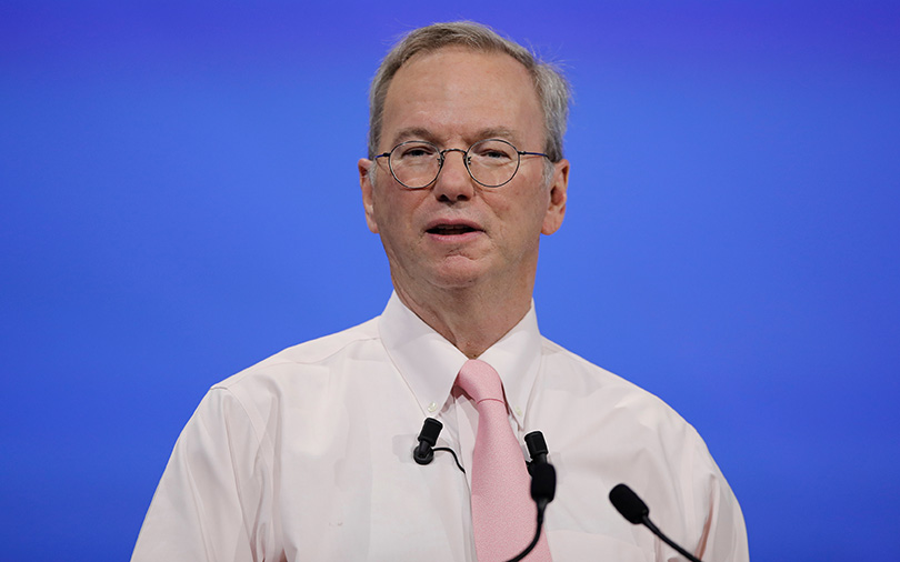 Google ex-chairman Eric Schmidt roots for Ethereum platform