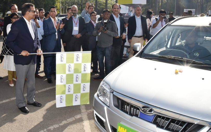 Mahindra & Mahindra's electric vehicles drive into shared mobility space
