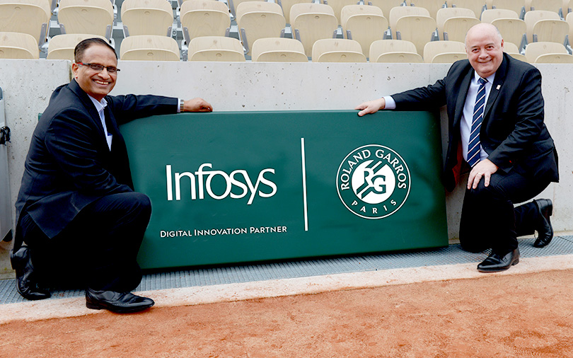 Infosys to bring advanced data analytics, AR-VR to this major tennis event