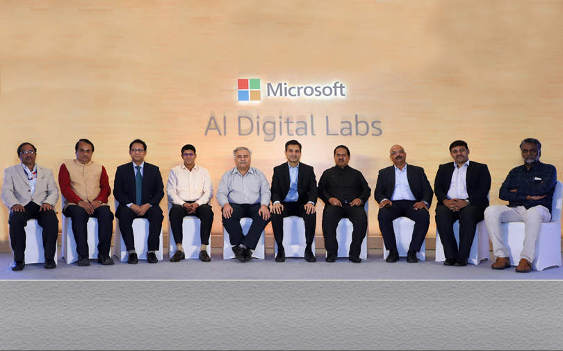 Microsoft partners with universities to launch 10 AI Digital Labs in India