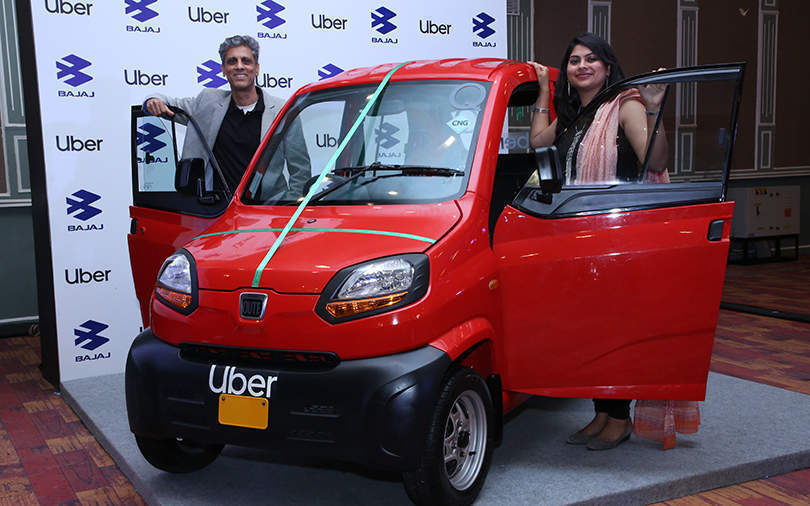 Now, Uber zips around Bengaluru in Bajaj buggies