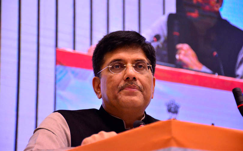 Piyush Goyal sticks to stance: No multi-brand retail by foreign e-commerce firms
