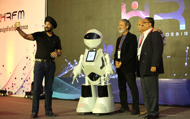 Tech Mahindra unveils HR humanoid for Noida special economic zone