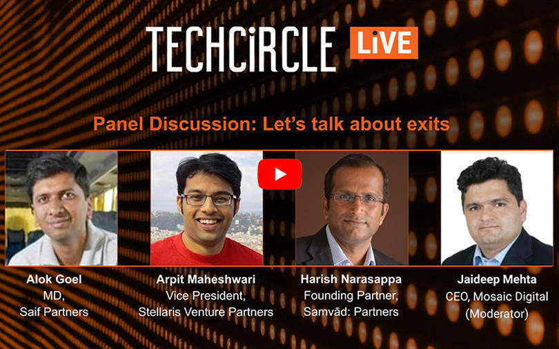 Investors are bullish about exits in India's startup ecosystem: Panellists at TechCircle LIVE