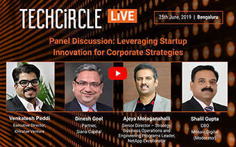 Corporates need to pay more attention to startups for innovation: Panellists at TechCircle Live
