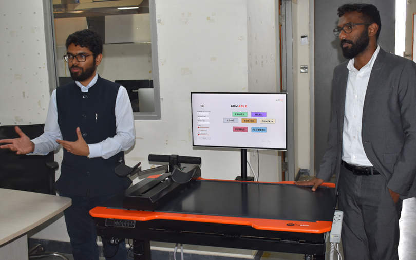 IIT Hyderabad-incubated BeAble rolls out rehab device Arm Able