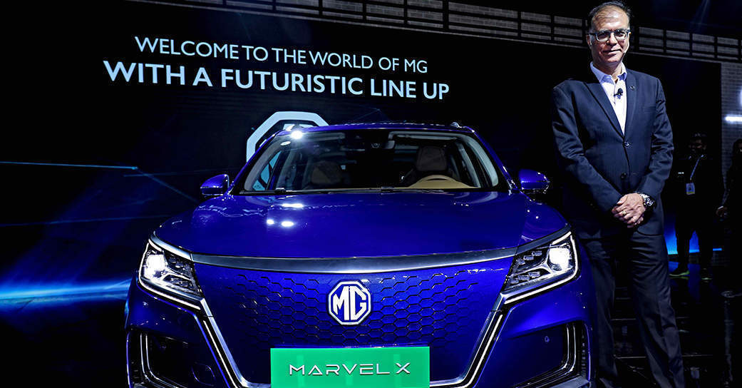 MG Motor India launches connected SUV Marvel X; partners with Avataar.Me
