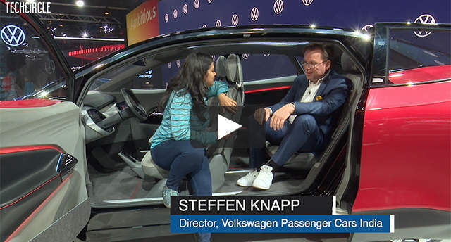 Watch: Steffen Knapp on Volkswagen's concept e-SUV and the Indian EV market