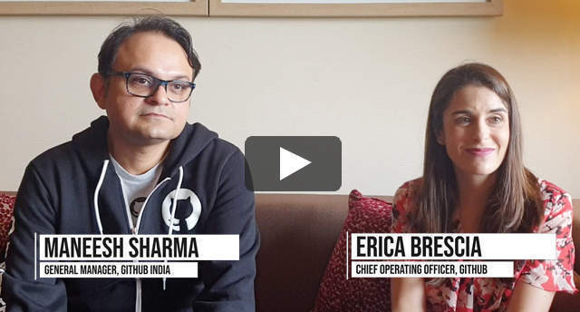 Watch: Erica Brescia and Maneesh Sharma on GitHub's strategy to build its India community