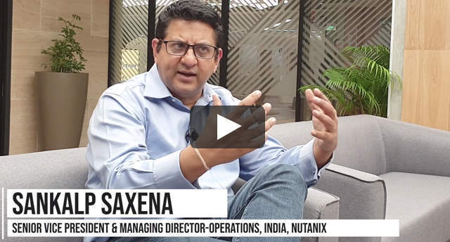 Watch: Sankalp Saxena on the Nutanix strategy for growth in India's HCI market