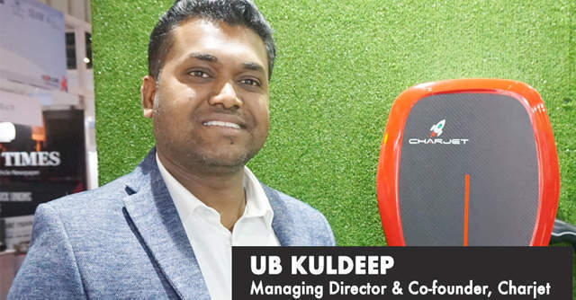 Watch: UB Kuldeep on how Charjet plans to put EV chargers in every car park