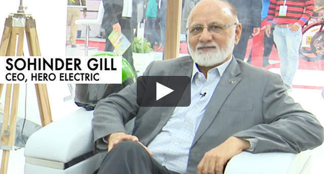 Watch: Word of mouth vital to EV adoption in India, says Hero Electric CEO Sohinder Gill