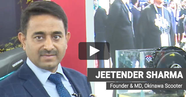Watch: Jeetender Sharma on how Okinawa aims to win in the Indian EV market