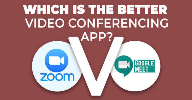 Watch: Zoom versus Google Meet -- Which is the better video conferencing app?